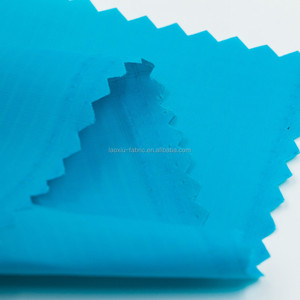 210t polyester oxford fabric with pu coating Poly Cotton Fabric Microfiber Peach Skin fabric