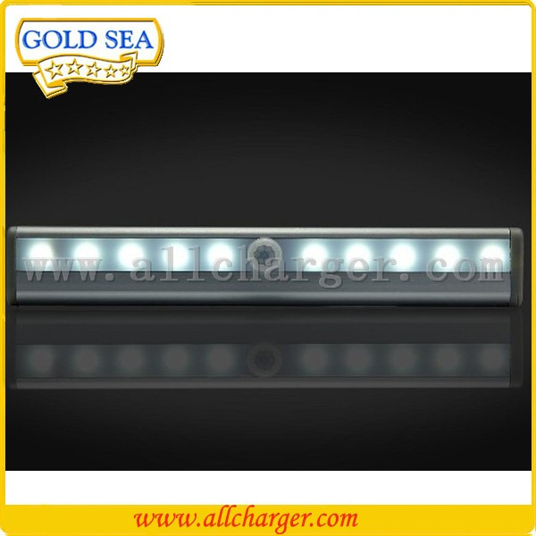 New Product High Power Battery Operated 10leds sensor light