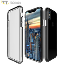 Clear anti-scratch protective case for iphone x case custom,three proof phone shell protector case for iphonex