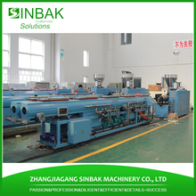 Cold / hot water ppr pipes list extruder making machine with extrusion mould