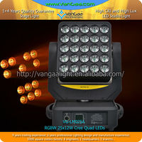 2015 Newest dj lighting 25*12W 4IN1quad led moving head matrix beam light