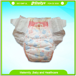 3D leak protection disposable sleepy baby diaper