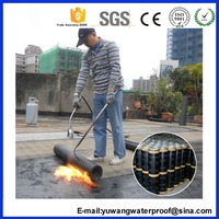 APP / SBS Modified Waterproofing Bitumen Membrane With Low Price