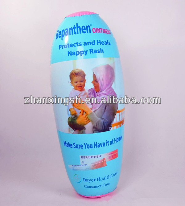 Customized Inflatable Bottles/PVC Bottles/Cans for Promotion,Inflatable Products Model