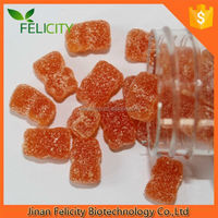 Halal certified gummy bear vitamin candy with ginger in bulk