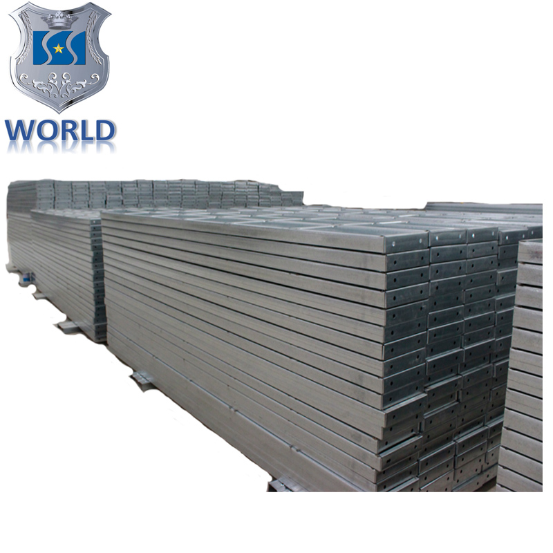 construction steel galvanized scaffolding plank BS2482