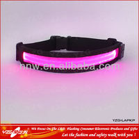 safety product sports goods Nylon webbing led running waist belt