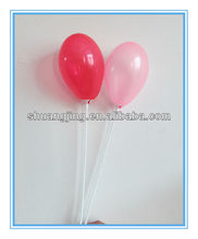 different colors transparent water balloon