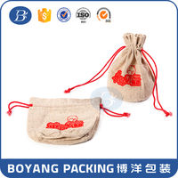 Newest design great product fancy wholesale hemp bag drawstring