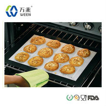 Reusable fda grade non-stick baking mat/silicone baking pad for oven/custom heat resistant silicone baking mat for bakery