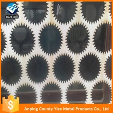 Trade Assurance GI perforated sheet /decorative perforated sheet metal panels