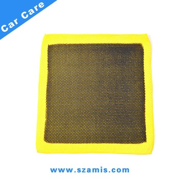 "12""x12"" New Clay Bar Edgeless Microfibre Merbau Auto Car Magic Cloth Towel Detailing Super Cleaning Cloth"