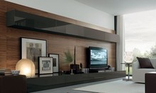 Modern Design Living Room Tv Set Furniture,Tv Wall Units Wooden Tv Cabinet Designs
