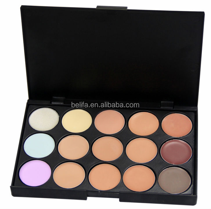 New style fashional 15 color concealer palette