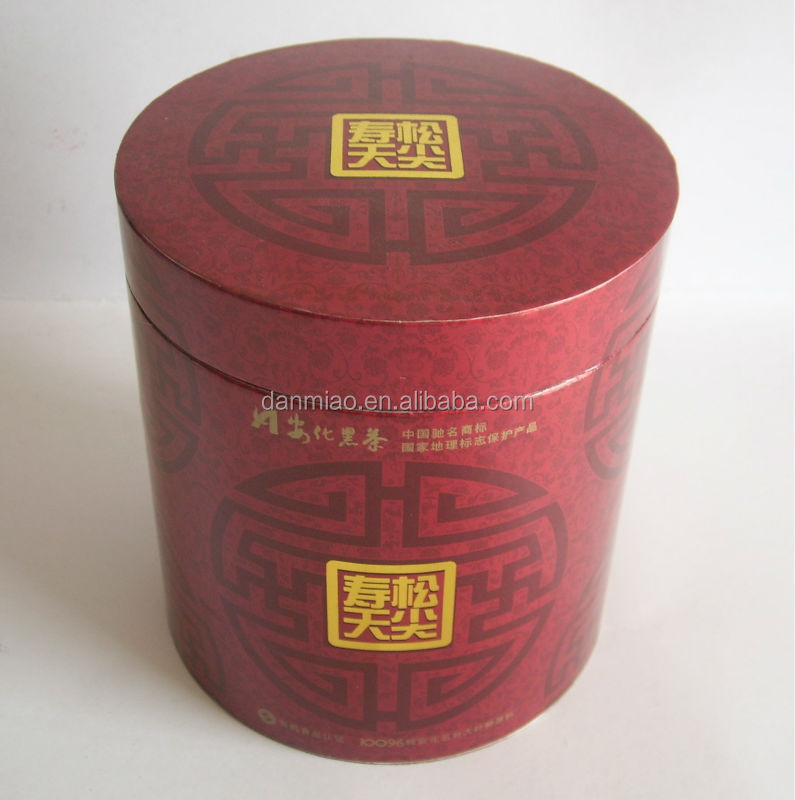 Luxury Red bottle boxes paper tubes