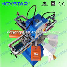 Semi Auto 3 Color Cheap t-shirt logo Screen Print Press (GW-300TRS)