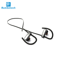 Enjoyou For Sale Factory Price Sports Super Mini Bluetooth Headset , Sport Wirelss Bluetooth Headset With Mic RU10