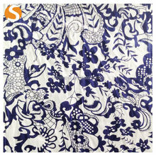 High Quality Special China national style 100 cotton printed fabric for women garment