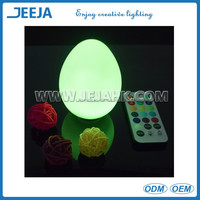 JEJA brand in china waterproof LED egg light/Outdoor tumber night light for Party Light/exhibition/holiday