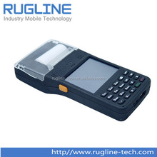 Windows rugged barcode scanner pda with printer(RT350)
