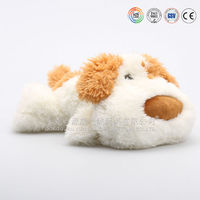 OEM Fur Stuffed Sleeping Breathing Toy Dog