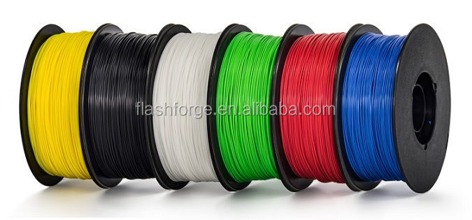 Flashforge 3D printer filament <strong>ABS</strong> PLA 1.75-1.8mm