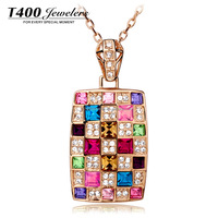 T400-2016 Fashion Jewelry made with Swarovski Elements Cryastal #1565