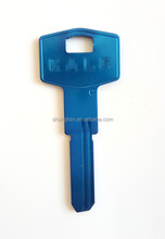 Wholesale aluminum color door blank keys