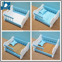 Hoopet Factory Direct Foldable Wooden Dog Pet Bed Manufacturer wholesale