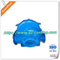 2015 cheap price China casting foundry OEM custom made cast iron parts centrifugal slurry pump