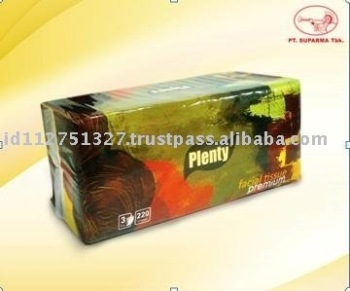 Facial Tissue Soft Pack 100% Virgin Pulp PL-EK-1