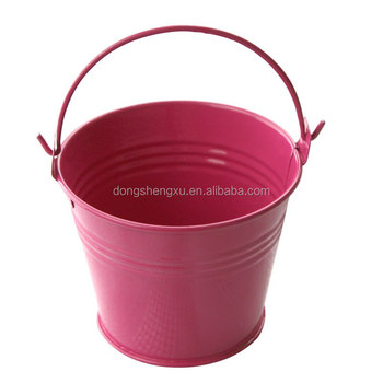 home & garden metal buckets by customers' drawings