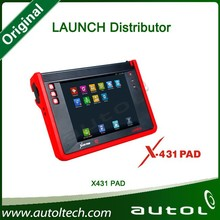 Auto Repair Tools Launch X-431 Pad Tablet Diagnostic Scanner One-Key Update Online for Engine Analysis