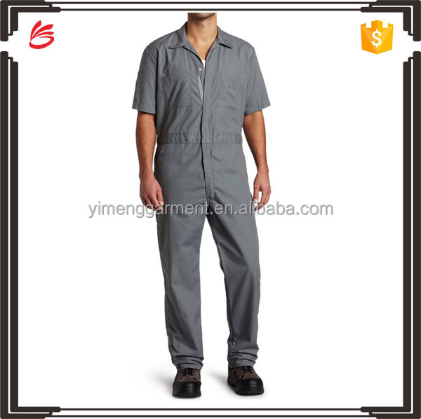 2016 Hot sale coveralls unifrom design/gardener/worker uniform