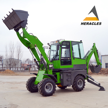 New style! China brand mini cheap towable backhoe with CE&ISO