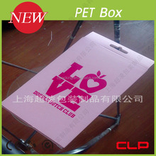 new high quality custom cardboard gift boxes clear lid