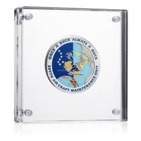 Custom acrylic coin holder display box case size wholesale