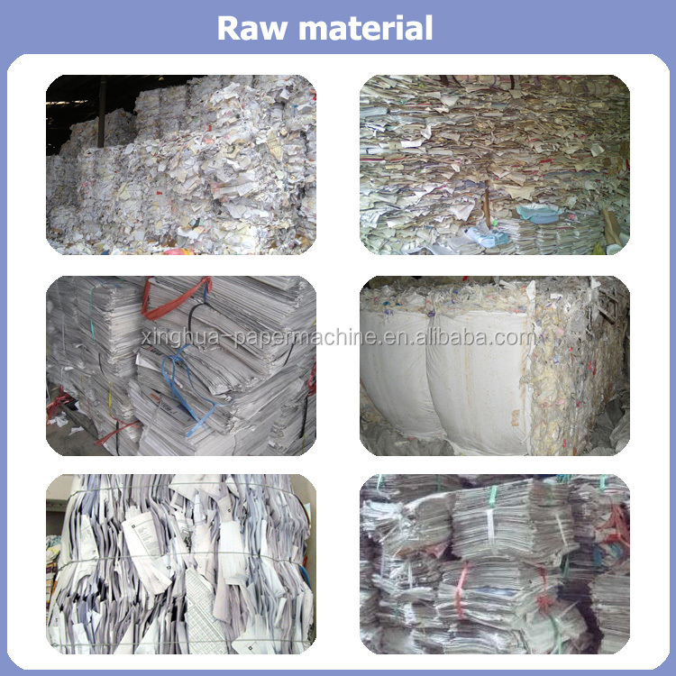 Waste paper and virgin pulp raw material of toilet paper,tissue paper raw material