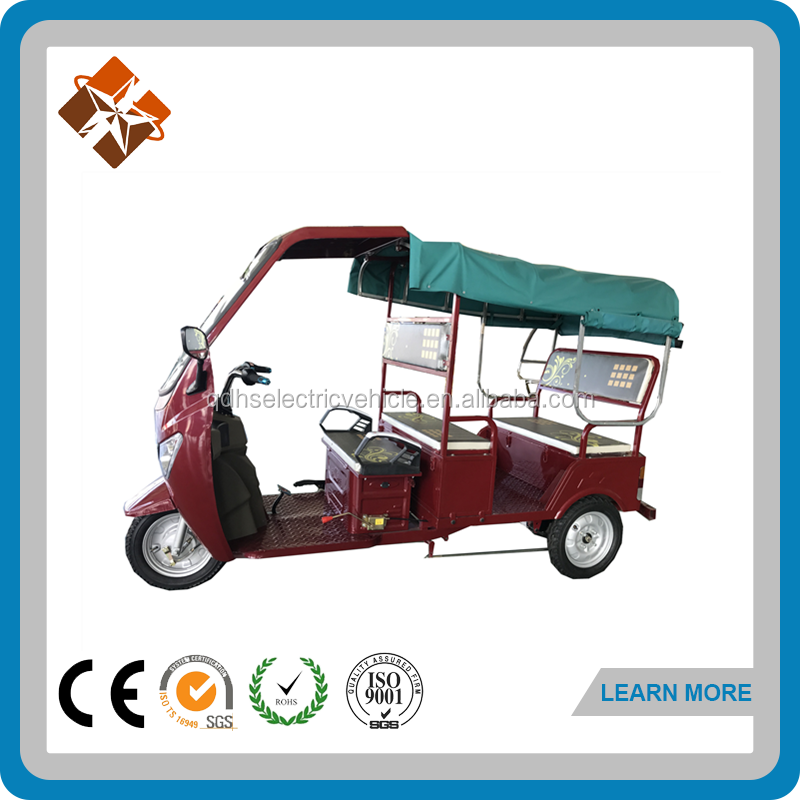 electric tricycle motor 60v rickshaws tuk tuk three wheeler manufacturer in india