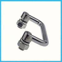 stainless steel machine case pull handle Vendor