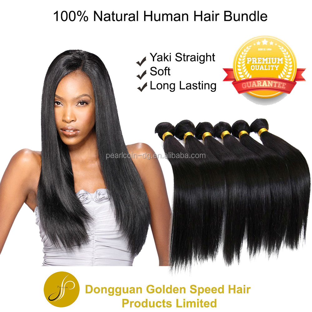 Top Beauty 100% Peruvian Human Hair Virgin Black Weave Hair Extension