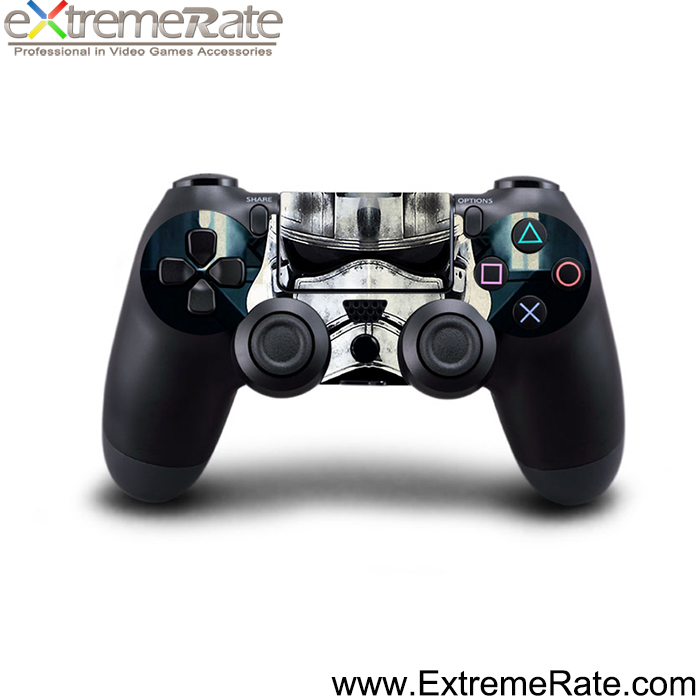 2015 new design custom skin sticker wrap for PS4 controller console
