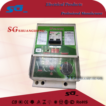 safety automatic cut V-safe RCBO for Thailand