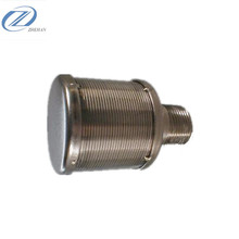 stainless steel 304 316 316L strainer filter nozzle for industrial water treatmment