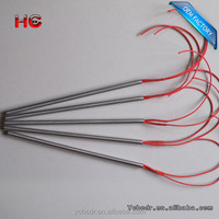 Low Voltage 1/8' diameter customized cartridge heater /heating elements
