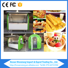 Chinese food cart best food trailer, motorcycle food van for sale
