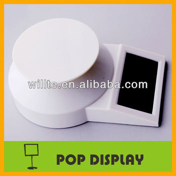 solar AD motorized rotation display turntable(A0110TS)