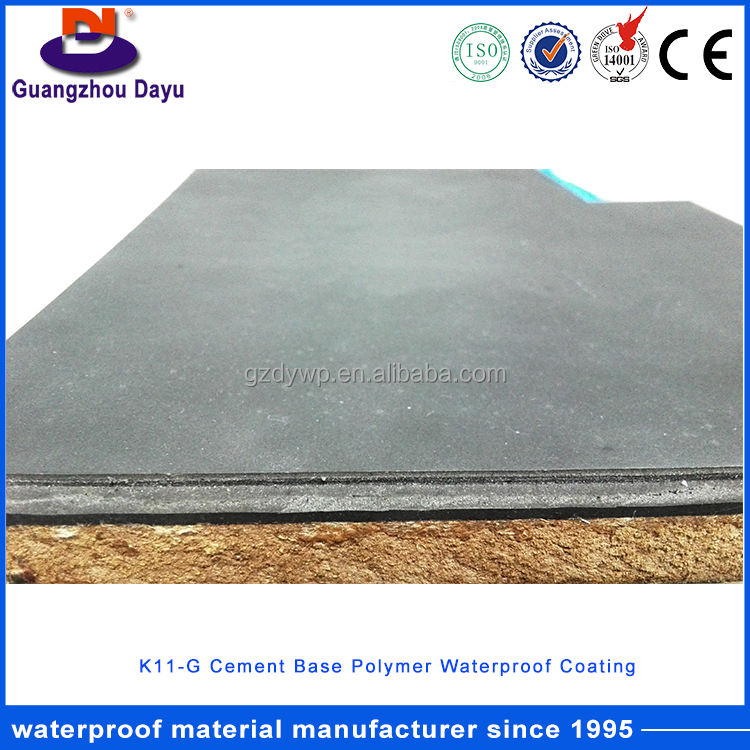 Basement Waterproofing Materials Cementitious Waterproofing Slurry