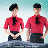 Fast food restaurant and hotel design uniform waitress uniform and waiter uniform