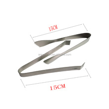 wholesale Stainless Steel Food Bread Barbecue Clip/Steak Clip/Ice tongs
